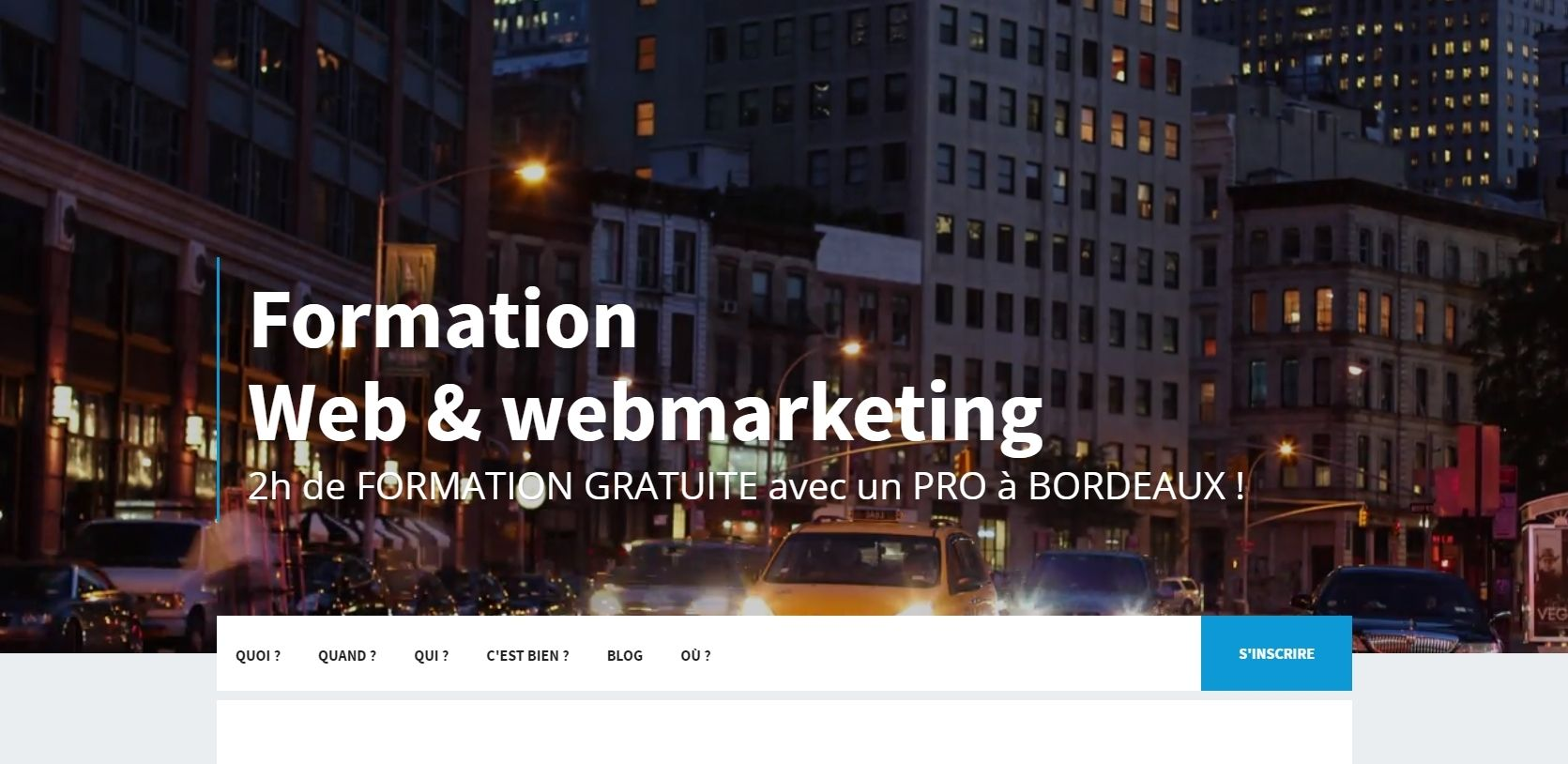 Formation  Web & webmarketing